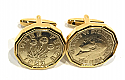 1952 Threepence 3d 68th birthday Cufflinks - 68th birthday 1952 cufflinks boxed