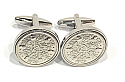 Sixpence for luck 1929 91st Birthday Cufflinks - WOW great gift - Cufflink box