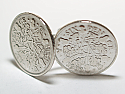Sixpence for luck 1933 87th Birthday Cufflinks - WOW great gift - Cufflink box